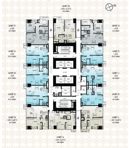 Low Zone Floor Plan