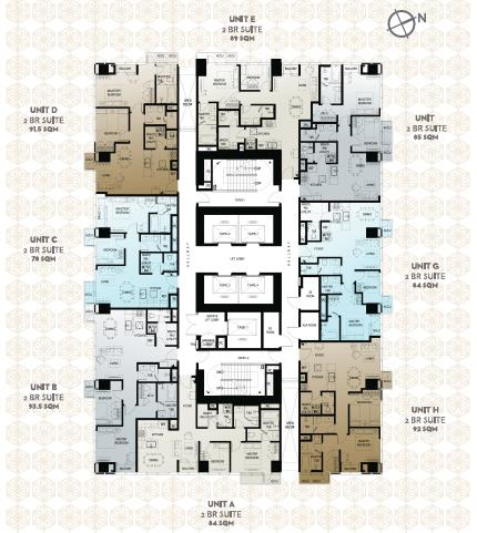 Mid Zone Floor Plan