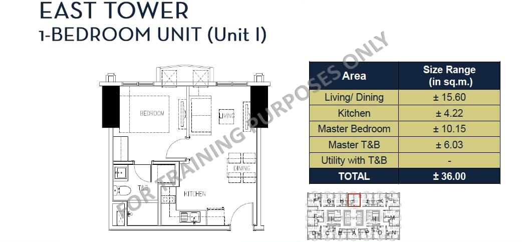 One Bedroom Unit
