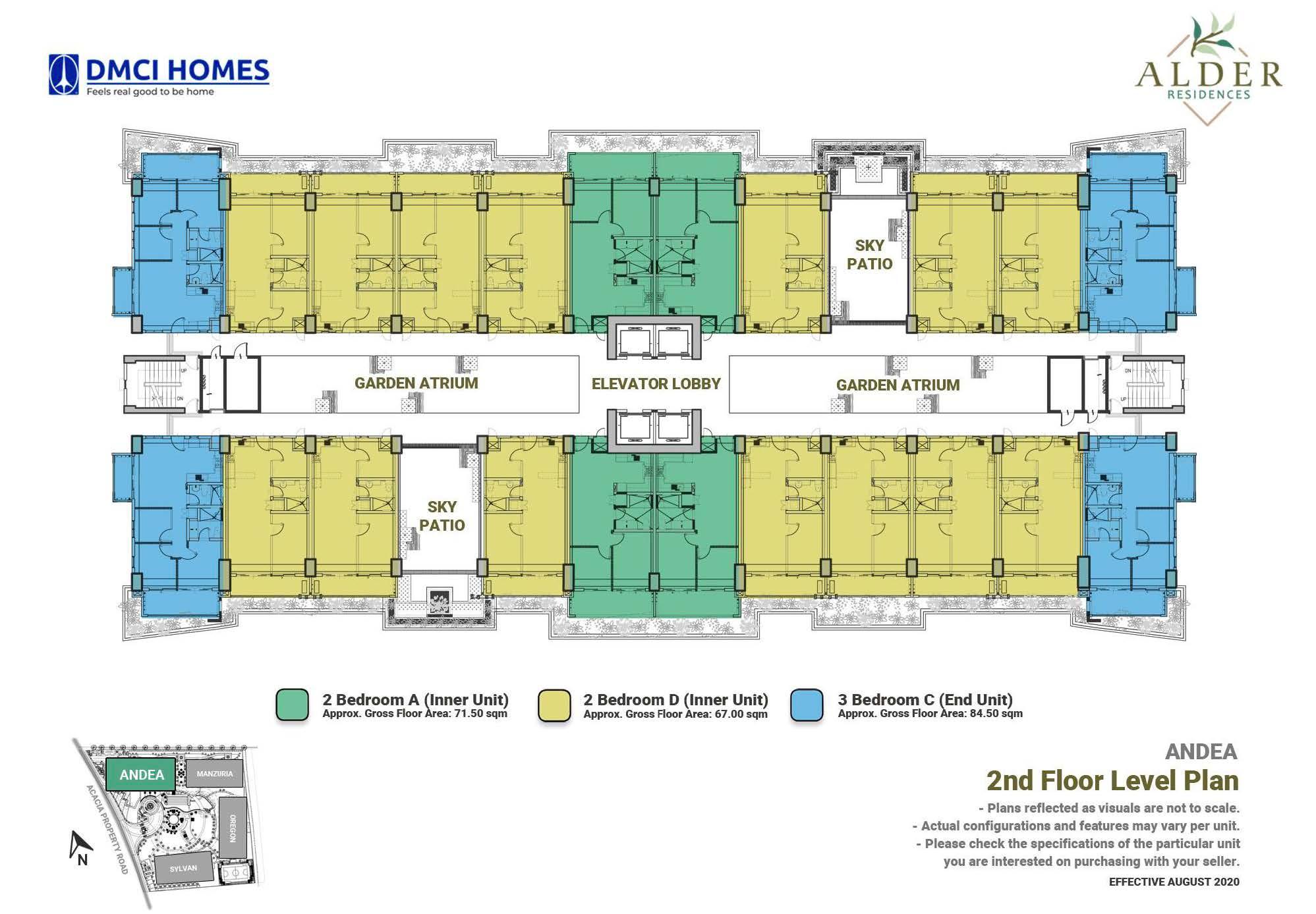 2nd Level Floor Plan