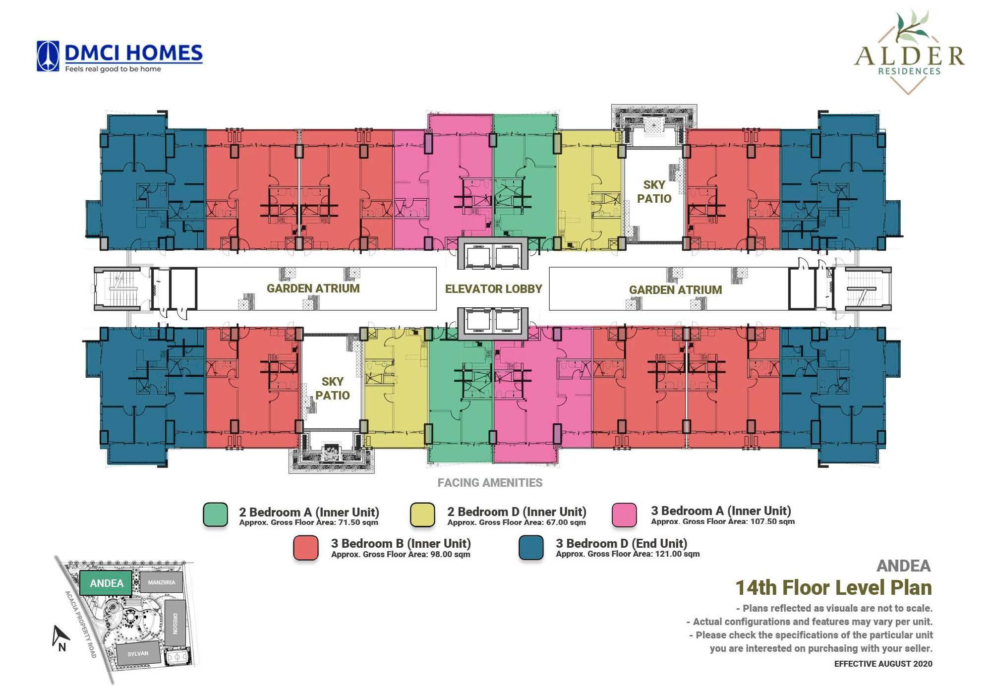 14th Level Floor Plan