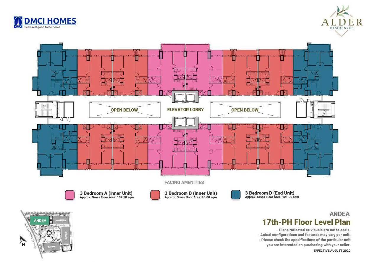 17th - PH Level Floor Plan