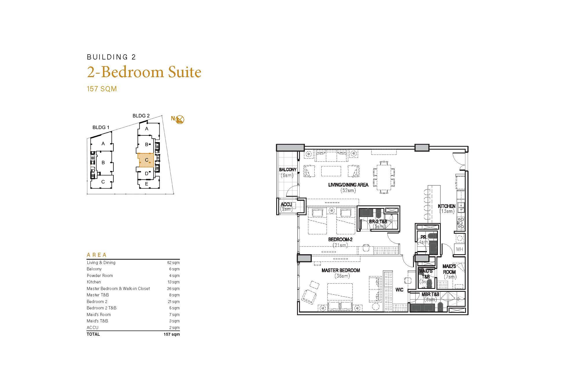 2BR Suite