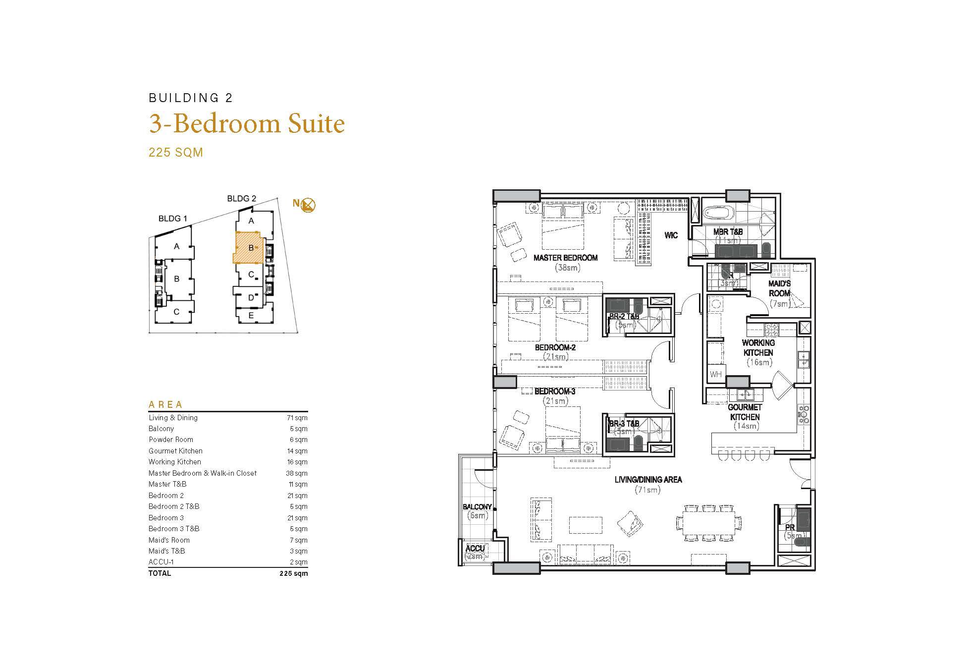 3BR Suite